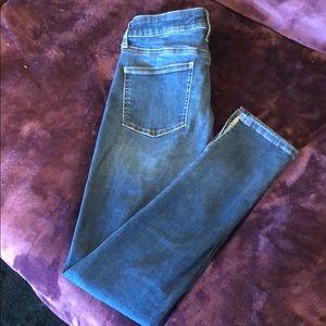 Ankle length Uniqlo denim jeans